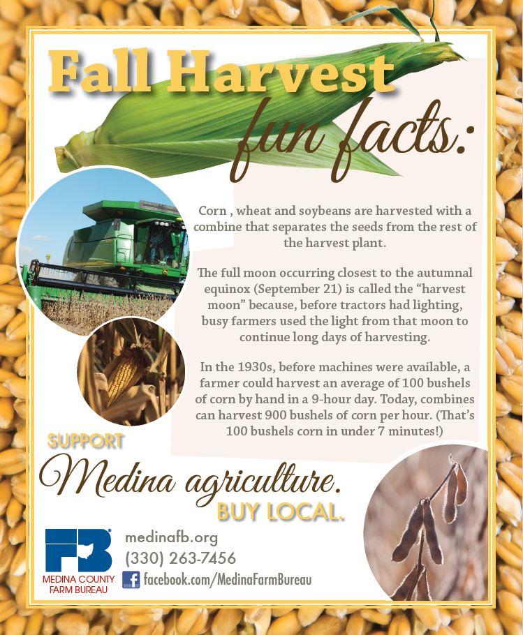 Ag Fun Facts – Medina County Farm Bureau